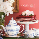 Valentine's Entertaining Table Setting | Gracious Style