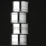 Grosgrain Napkin Rings Silver Vera Wang Gift | Gracious Style