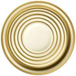 Hemisphere Gold Stripe Dinnerware | Gracious Style