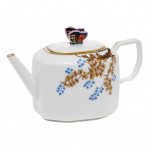 Paba-x1 Butterfly & Bamboo L/e Tea Pot