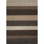 SHL01 Shelton By Rug Republic Casco Gargoyle/Silver Mink Wool Textured 8'x10' Rect Rug