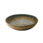 Heavy Metal Small Bowl Black/Silver/Gold | Gracious Style