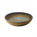 Heavy Metal Small Bowl Black/Silver/Gold