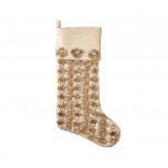 Pearl Fringe Champagne/gold Stocking | Gracious Style