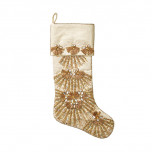 Trevi Champagne/Crystal Stocking