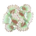 Koi Pond Ivory/Seafoam/Gold Placemats | Gracious Style