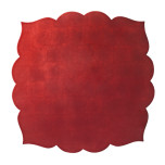 Fez Burgundy Placemats | Gracious Style