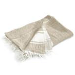 Belgian Towel Fouta Flax Stripe