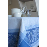 Provence Blue/White Table Linens   Gracious Style