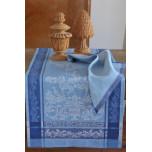 Versailles Blue/Beige Table Linens   Gracious Style