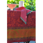 Versailles Red/Green Table Linens | Gracious Style