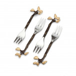 Mullbrae Cocktail Forks 5 in (Set of 4)