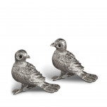L'Objet Bird Platinum Salt & Pepper Shakers