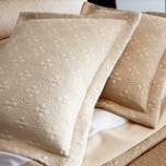 Lucia Matelasse Cotton/Silk Coverlet | Gracious Style