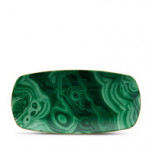 Malachite Rectangular Tray - Medium | Gracious Style