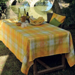 Garnier-Thiebaut Mille Panache Canary Table Linens