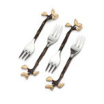 Mullbrae Cocktail Forks | Gracious Style