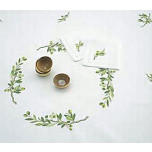 Olives Embroidered Tablecloth and Placemats | Gracious Style