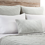 Brussels Sea Foam Bed Linens | Gracious Style
