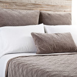 Brussels Walnut Bed Linens | Gracious Style