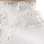 Charlie Cream Bed Linens | Gracious Style