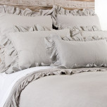 Charlie Flax Bed Linens | Gracious Style