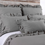Charlie Grey Stone Bed Linens | Gracious Style