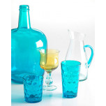 Recycled Prism colored Glassware by Vietri | Gracious Style