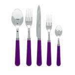 Basic Purple Flatware