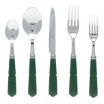 Gustave Dark Green Flatware