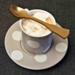 Old Fashioned Caramel Demitasse Spoon