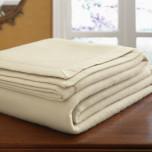 Savoy Solid Cashmere Blanket