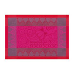 Palais Persan Fuchsia Placemat Rect 21 x 15 in