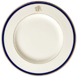 Signature Monogram Blue Dinnerware