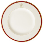 Signature Monogram Burgundy Dinnerware