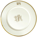 Signature Monogram Charger | Gracious Style