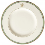 Signature Monogram Green Dinnerware