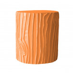 Stump Stool Pumpkin Blush