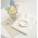 Tudor Ivory Tablecloth Runner 15 X 90 in | Gracious Style