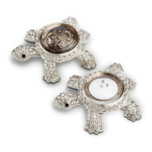 Turtles Platinum Salt & Pepper Shakers | Gracious Style
