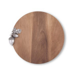 Vagabond House Acorn Cheese Board 10 in. Dia .75 in. T