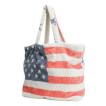Vintage Americana Terry Tote Bag by Fresco   Gracious Style