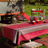 Zingaro Coated Pink Table Linens