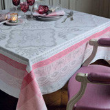 Mathilde Rose Easy Care Table Linens