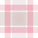 Mathilde Rose Napkin Square 21 in