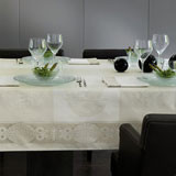 Darjeeling Coated Ivory Table Linens