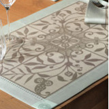 Venezia Ash Beige Table Linens