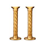 Carrousel Gold Candlesticks