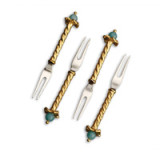 Fortuny Cocktail Picks Venise (Set of 4) 4.25 in