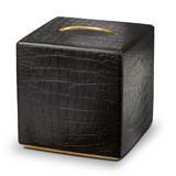 Crocodile Tissue Box 6 in Sq